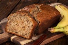 Banana Nut Bread Stock Photography