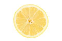 Closeup of a sliced lemon Royalty Free Stock Photo