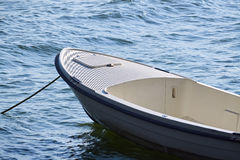 Closeup of a small boat Stock Photos