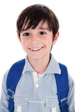 Closeup smile of a cute young boy Stock Photo