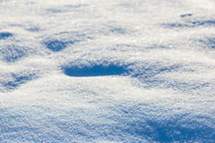 Closeup snow background Royalty Free Stock Images