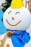Closeup snowman Stock Photo