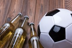 Beer Football Stock Photography