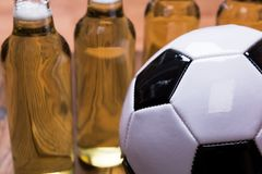 Beer Football Royalty Free Stock Images