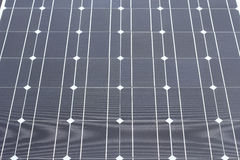 Closeup solar cell texture Royalty Free Stock Images