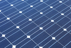 Closeup of solar panel Royalty Free Stock Images