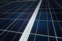 Closeup solar panel Royalty Free Stock Images