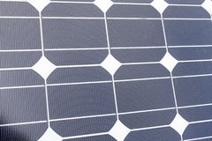 Closeup of Solar Panels. It is a Closeup of Solar Panels useful for alternative energy themes Royalty Free Stock Images