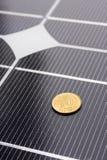 Closeup of Solar Panels Stock Photos