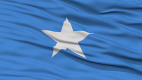Closeup Somalia Flag. Waving in the Wind, High Resolution stock images