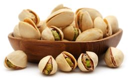 Closeup of some roasted pistachio stock photos