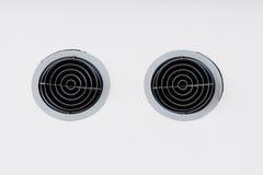 Closeup of soundbar speaker Stock Image