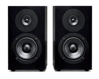Closeup of soundbar speaker Royalty Free Stock Photography