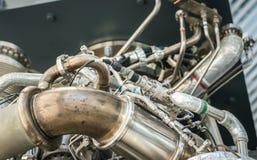 Closeup of space engine. Stock Photos