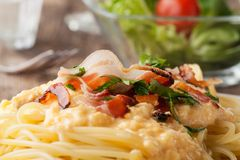 Carbonara Royalty Free Stock Photos