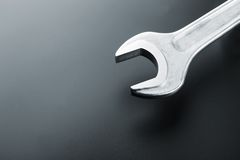 Closeup of spanner Stock Photo