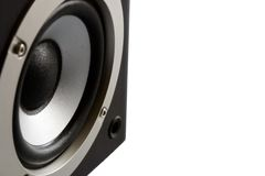 Closeup speaker Royalty Free Stock Images