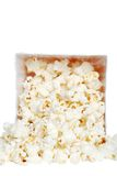 Closeup Spilled Popcorn Royalty Free Stock Image