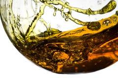 Closeup of splashing liquid Royalty Free Stock Photography