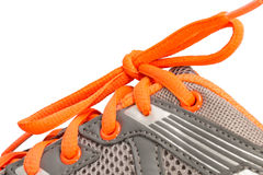 Closeup sport shoes. Royalty Free Stock Image