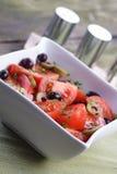 Closeup of spring salad Royalty Free Stock Photography