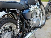 Closeup of springs, shock absorbers motorcycle big bike. Closeup of springs, shock absorbers motorcycle big bike engine, Power stock image