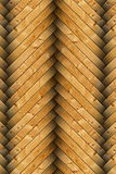 Closeup of spruce floor tiles Royalty Free Stock Photos
