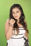 Closeup srilankan teenager Stock Photos