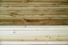 Closeup of Stacked woods Stock Image