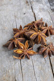Closeup of star anise Royalty Free Stock Image