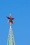 Star on the Moscow Kremlin tower Stock Photography