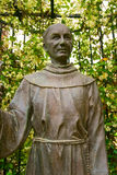 Closeup Statue of Junipero Serra Royalty Free Stock Image