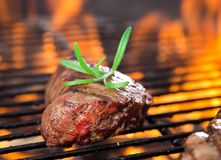 Closeup of a steak Royalty Free Stock Photography