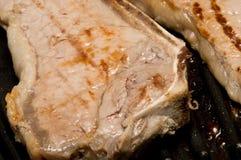 Closeup  Of Steaks  Royalty Free Stock Photos