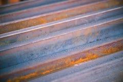 Closeup steel materials Stock Photography
