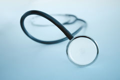 Closeup of a stethoscope Stock Images