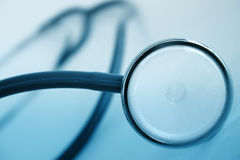 Closeup of a stethoscope Royalty Free Stock Photo