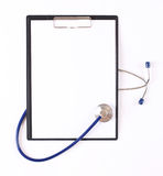 Closeup of a stethoscope Stock Image
