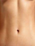 Closeup stomach Stock Images