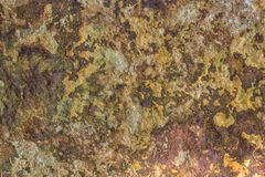 Closeup of a stone surface. With earthy colors Stock Photography