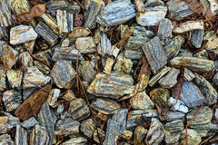 Closeup of stones as grunge background texture Stock Images