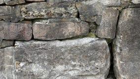 Closeup of a stonework wall Royalty Free Stock Photos