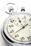 Closeup of a stopwatch Royalty Free Stock Images
