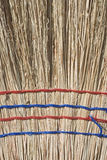 Closeup of Straw Broom Stock Photos