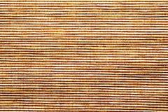 Closeup of Straw mat texture Stock Photo