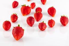 Closeup of strawberries Stock Photos