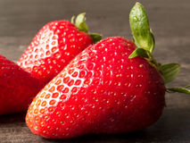 Closeup Strawberry Stock Photos