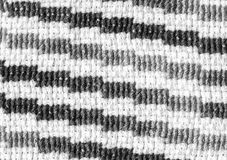 Closeup of striped embroidery pattern Stock Image