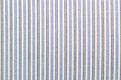 Closeup of striped fabric Stock Images