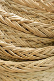 Closeup Structure of Rattan Weave Texture Stock Image